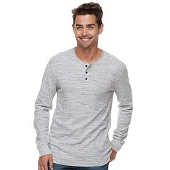 Men's Marc Anthony Regular-Fit Waffle-Weave Henley