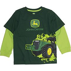 Boys 4-7 John Deere Mock Layer Graphic Tee