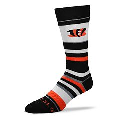 Women's For Bare Feet For Bare Feet Cincinnati Bengals Crew Cut Socks