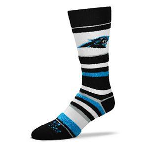 12115fbf Men's For Bare Feet Carolina Panthers Crew Socks