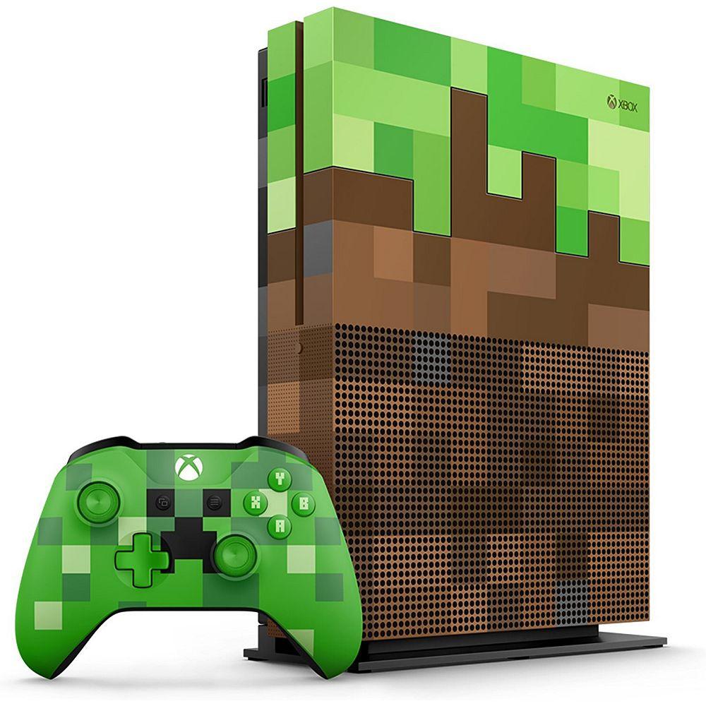 کنسول ایکس باکس وان اس Xbox One S 1TB - Minecraft