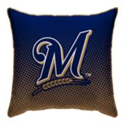 Pegasus Milwaukee Brewers Dot Fade Decorative Pillow
