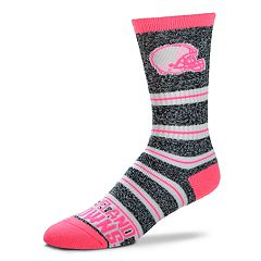 Women's For Bare Feet For Bare Feet Cleveland Browns Crew Cut Socks