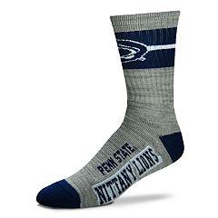 Men's For Bare Feet Penn State Nittany Lions Crew Cut Socks