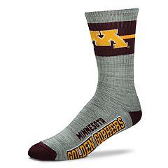 Adult For Bare Feet Minnesota Golden Gophers Deuce Band Crew Socks