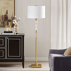 Madison Park Signature Adeline Marble Floor Lamp