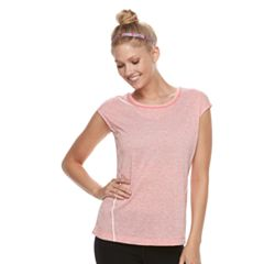 Women's Tek Gear® Performance Cap Sleeve Tee