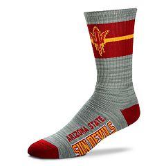 Adult For Bare Feet Arizona State Sun Devils Deuce Band Crew Socks