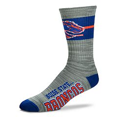 Adult For Bare Feet Boise State Broncos Deuce Band Crew Socks