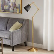 Madison Park Signature Brooks Industrial Floor Lamp