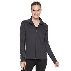 Women's adidas Heathered Full Zip Jacket
