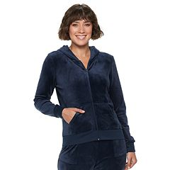 Women s Juicy Couture Ultrasoft Velour Hooded Jacket 10160d626a
