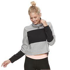 Women's adidas Sport 2 Street Mock Neck Sweatshirt
