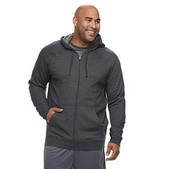 Big & Tall Tek Gear® Regular-Fit Ultrasoft Fleece Full-Zip Hoodie