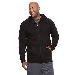Big & Tall Tek Gear® Regular-Fit Ultrasoft Fleece Full-Zip Hoodie