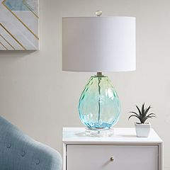 Urban Habitat Borel Ombre Glass Table Lamp