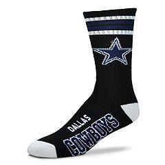 Men's For Bare Feet Dallas Cowboys Crew Socks