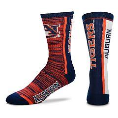 Men's For Bare Feet Auburn Tigers Crew Cut Socks