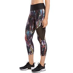 Women's Jockey Sport Shadow Prism Mid-Rise Capri Leggings