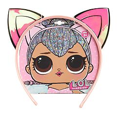 Girls 5-12 L.O.L. Surprise! Pink Cat Ear Headband