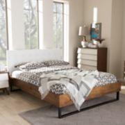 Baxton Studio Mitchell Industrial Platform Bed