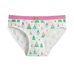 Girls 7-16 Maidenform Seamless Holiday Hipster Panties