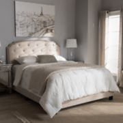 Baxton Studio Lexi Tufted Bed