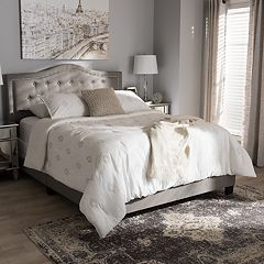 Baxton Studio Emerson Tufted Bed