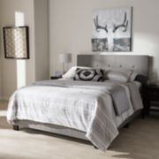 Baxton Studio Hampton Tufted Bed