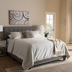 Baxton Studio Cassandra Tufted Bed
