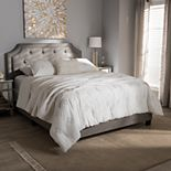 Baxton Studio Willis Tufted Bed