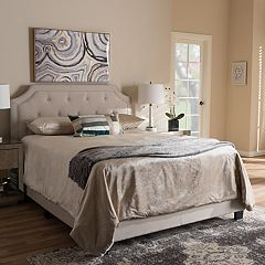 Baxton Studio Willis Tufted Bed