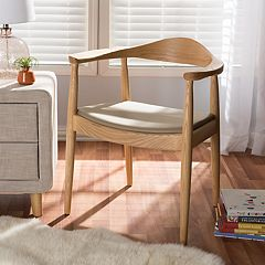 Baxton Studio Dalton Mid-Century Modern Accent Chair