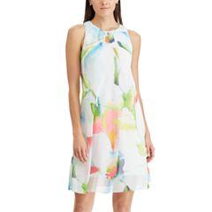 Women's Chaps Print A-Line Dress