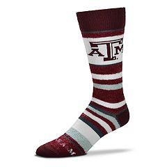 Men's For Bare Feet Texas A&M Aggies Crew Cut Socks