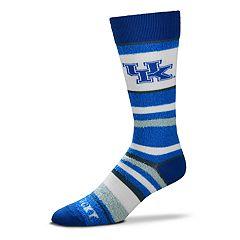 Men's For Bare Feet Kentucky Wildcats Crew Cut Socks