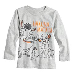 Disney's The Lion King Baby Boy Timon, Simba & Pumba Graphic Tee by Jumping Beans®