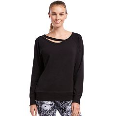 Women's Jockey Sport Lean In Cutout Sweatshirt