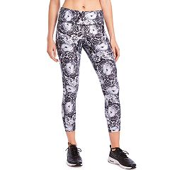 Women's Jockey Sport Mineral Bouquet Mid-Rise Ankle Leggings