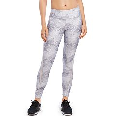 Women's Jockey Sport Linear Sky Mid-Rise Ankle Leggings