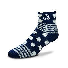 Women's For Bare Feet For Bare Feet Penn State Nittany Lions Plush Ankle Socks