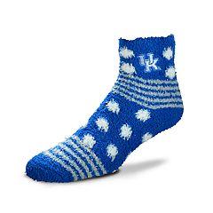 Women's For Bare Feet For Bare Feet Kentucky Wildcats Plush Ankle Socks
