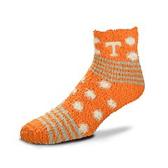 Women's For Bare Feet For Bare Feet Tennessee Volunteers Plush Ankle Socks