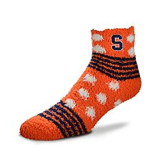 Women's For Bare Feet For Bare Feet Syracuse Orange Plush Ankle Socks