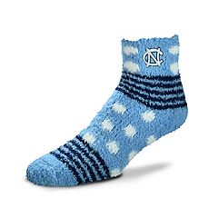 Women's For Bare Feet For Bare Feet North Carolina Tar Heels Plush Ankle Socks