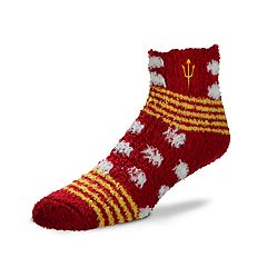 Women's For Bare Feet For Bare Feet Arizona State Sun Devils Plush Ankle Socks