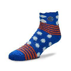 Women's For Bare Feet For Bare Feet Florida Gators Plush Ankle Socks
