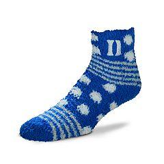 Women's For Bare Feet For Bare Feet Duke Blue Devils Plush Ankle Socks