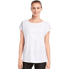 Women's Jockey Sport Starlight Cap Sleeve Graphic Tee