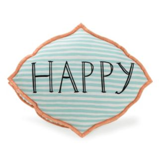 Makers Collective Molly Hatch Happy Thoughts Throw Pillow